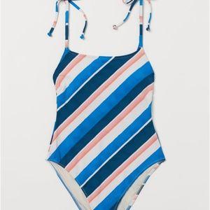 H&M Lemlem High Leg Swimsuit in XL